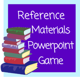 Reference Materials Powerpoint Game