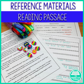 Reading Passage Set: Reference Materials