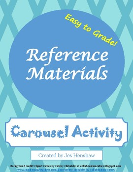 Reference Materials Review CAROUSEL ACTIVITY