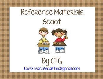 Reference Materials Scoot