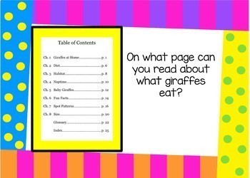 Parts of a Book Bundle - Boom Cards Interactive Task Cards