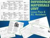 Reference Materials Unit Plan / 10-Day Lesson Plans and AL