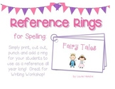 Reference Ring for Spelling: FAIRY TALES
