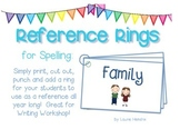 Reference Ring for Spelling: FAMILY