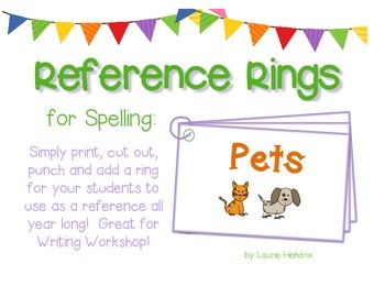 Reference Ring for Spelling: PETS
