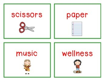 Spelling Cards for Writing: SCHOOL
