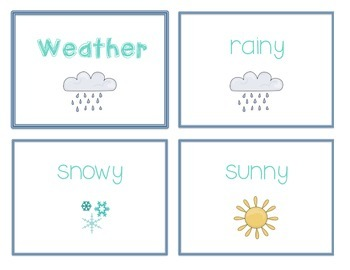 Reference Ring for Spelling: WEATHER
