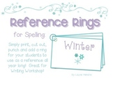Reference Ring for Spelling: WINTER