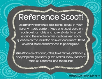 Reference Scoot for the Library Media Center