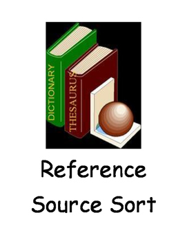 Reference Source Sort