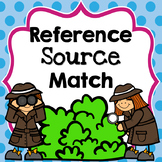 Reference Source Match: choosing the best reference source