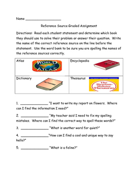 Reference Source Quiz