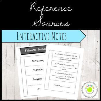 Reference Sources Foldable