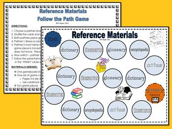 Reference Sources Follow the Path Game