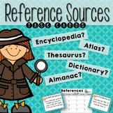 Reference Sources Task Cards