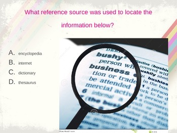 Reference Sources Test Prep