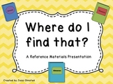Reference Text PowerPoint