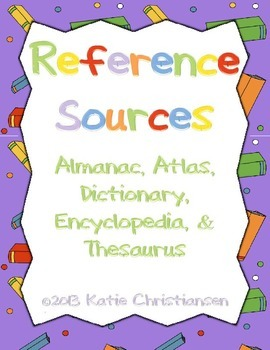 References Reader's Theater:Almanac,Atlas,Dictionary,Encyclopedia,Thesaurus