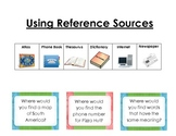 References and Informational Text Sort Common Core Reading Skill