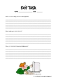 Referencing Research Exit Task