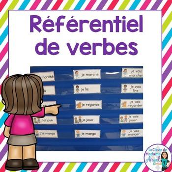 Référentiel de verbes:  French verbs reference cards