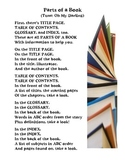 Parts of a Book Song