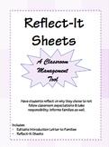 Reflect-It Sheets