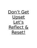 Reflect & Reset