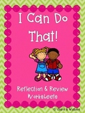 Reflect & Review: I Can Do That!
