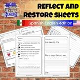 Bilingual Spanish English Reflect Restore PreK to 8 Restor