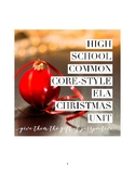 Reflect on Christmas in America -- High School Multi-Text Analysis and Write