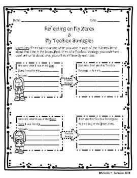 Reflecting On My Zones and My Toolbox Strategies