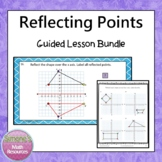 Reflecting Points on a Coordinate Plane Guided Lesson