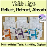 Reflecting, Refracting and Absorbing Light. Information Te