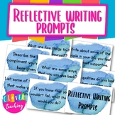 Reflecting writing prompts