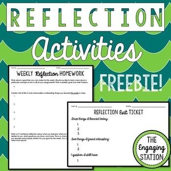 Reflection Activities
