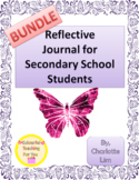 Reflection Journal BUNDLE for Secondary School Students