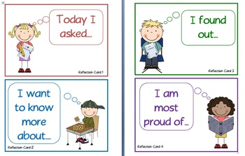 Reflection Card Prompts for class discussions or written reflections