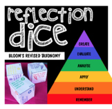 Reflection Dice --> Bloom's Revised Taxonomy