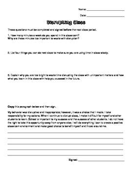Reflection Essay for Behavior
