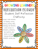 Reflection Flower Student Self Assessment Craftivity