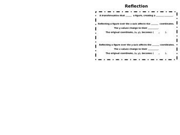 Reflection Foldable/Booklet
