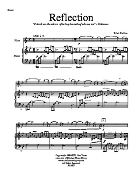 Reflection - Flute (Includes Full Performance mp3)