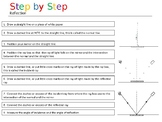 Reflection Investigation Companion - Step by Step Guidance Support Sheet