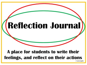 Reflection Journal for Time-Outs