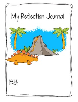 Reflection Journals with Dino Theme