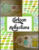 Reflection & Line of Symmetry Cartoon Artists