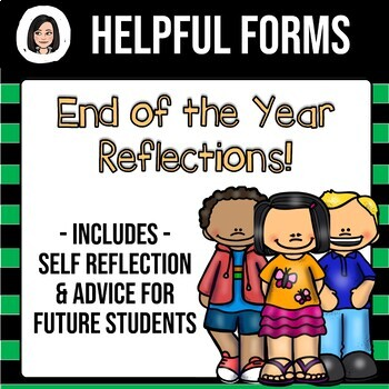 Reflection Packet - Help Your Students Become Accountable!