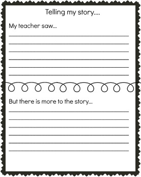 Reflection Page Student Story