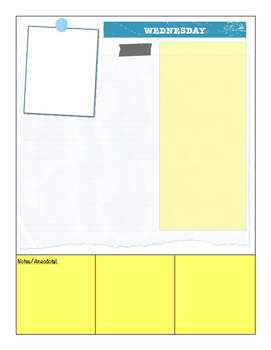 Reflection/Planning Sheets